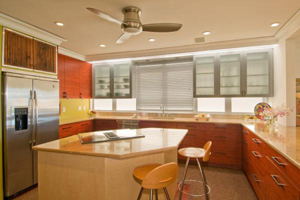 Full Kitchen in Waikiki vacation rental