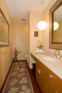 Guest Bathroom in home