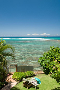 Lanai view of Pacific Ocean