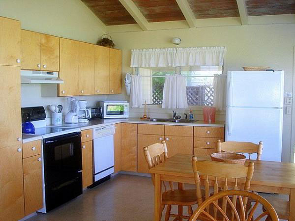 Kitchen with Dining area in Lanikai vacation rental
