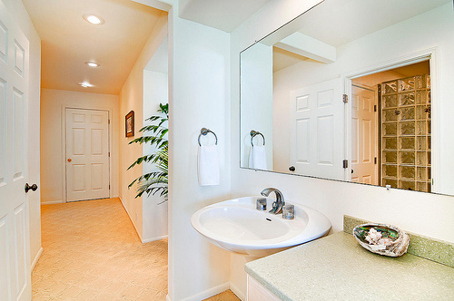 Bathroom in A Place on the Beach vacation rental