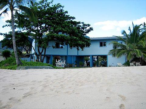 Makaha Hale Beach House From The